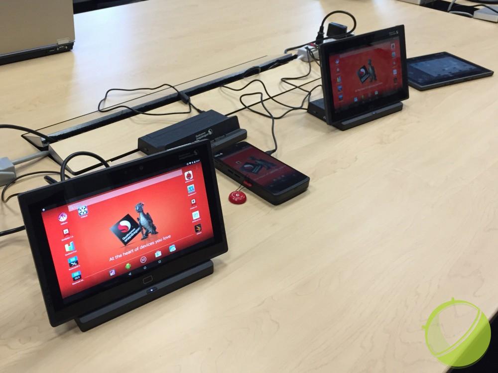 Nous avons testé les performances du Snapdragon 810 dans une tablette 4K