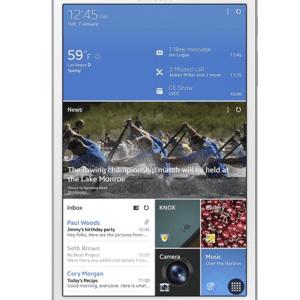 Samsung fabrique une Galaxy Tab Pro 8.4 avec un scanner d'iris
