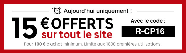 Bon plan : 15 euros offert dès 100 euros d'achat chez PriceMinister