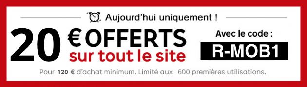 PriceMinister : 20 euros offerts dès 120 euros d'achat sur tout le site dont le Galaxy S6