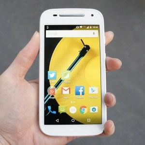 Motorola Moto E 2015 : Android 6.0 Marshmallow à l'approche