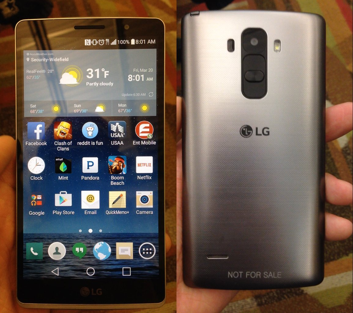 Le LG G4 se montre sur des photos leakées