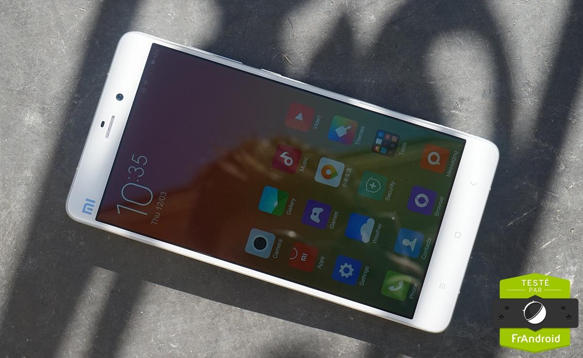 Test du Xiaomi Mi Note, le meilleur du Snapdragon 801