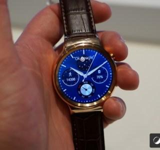 Prise en main de la Huawei Watch, classique et élégante