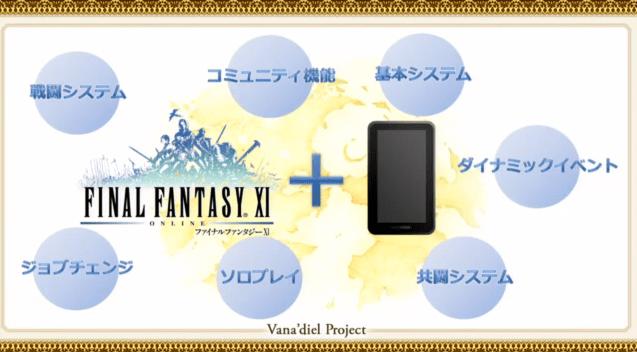 Le jeu en ligne Final FantasyXI va bientôt être porté sur smartphones et tablettes
