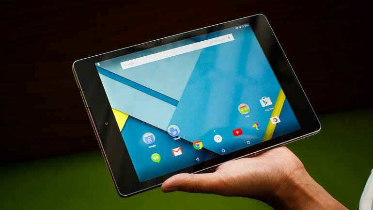 La Nexus9 vient d'être mise à jour… vers Android5.0.2