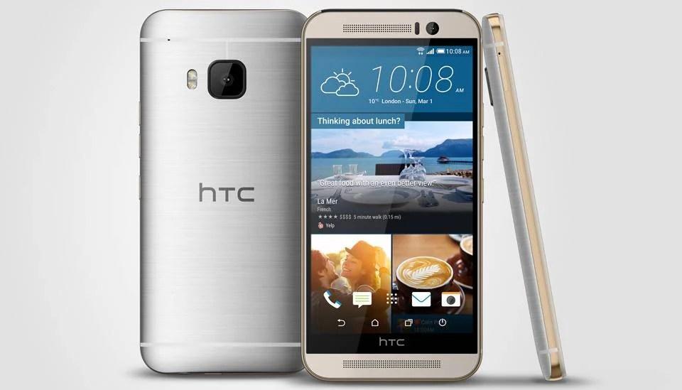 Voici le HTC One M9 : enfin officiel, sans surprise