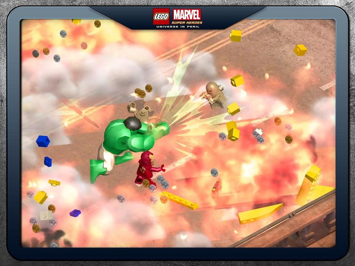 LEGO Marvel Super Heroes vous plonge dans un univers de super-héros