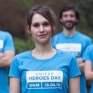 Avec Heroes Day, l'Unicef vous fait courir avec votre smartphone pour la bonne cause