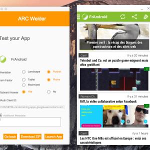 Tutorial : Comment utiliser ARC pour lancer des apps Android sur Windows, Linux, OS X et Chrome OS ?