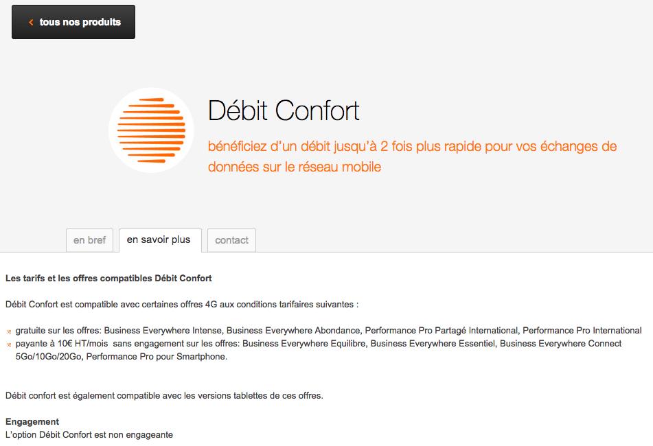 Orange Débit Confort, encore une fausse bonne idée ?