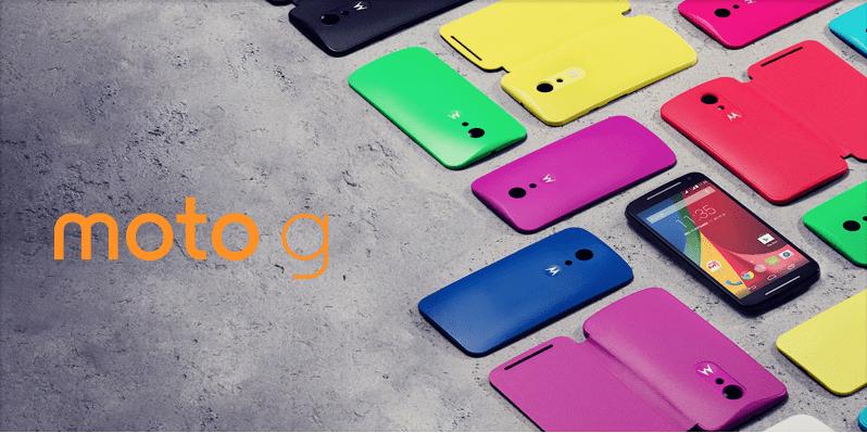 Bon plan : le Motorola Moto G 4G (2e génération) à 189 euros