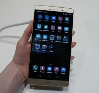 Aperçu du Huawei P8 Max, la phablette aux airs de tablette