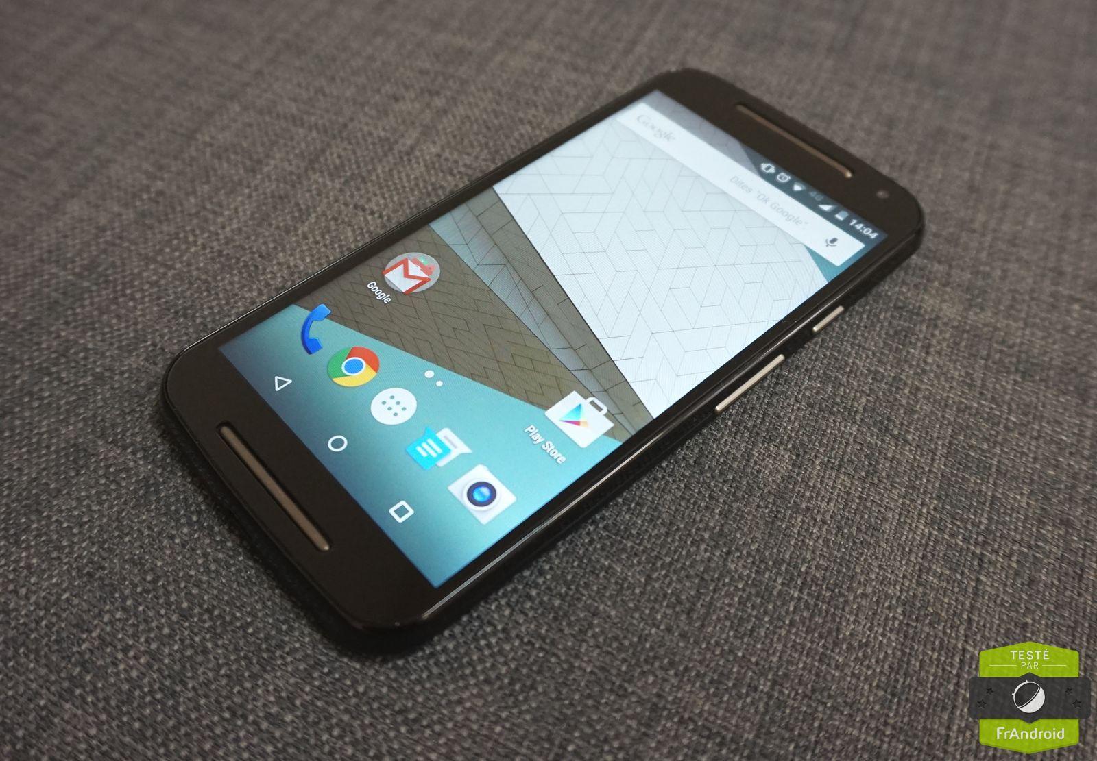 Test du Moto G 4G (2e Gen.) : 6 mois de retard inexcusables