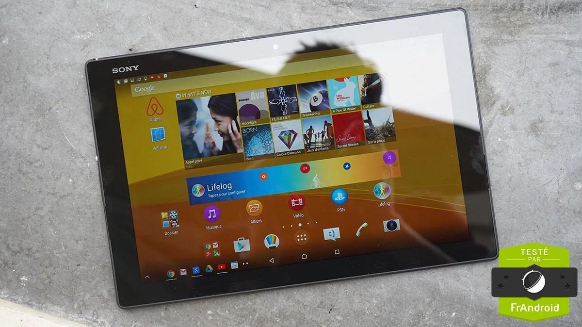 Test de la Sony Xperia Z4 Tablet : un Snapdragon 810 enfin à son aise ?