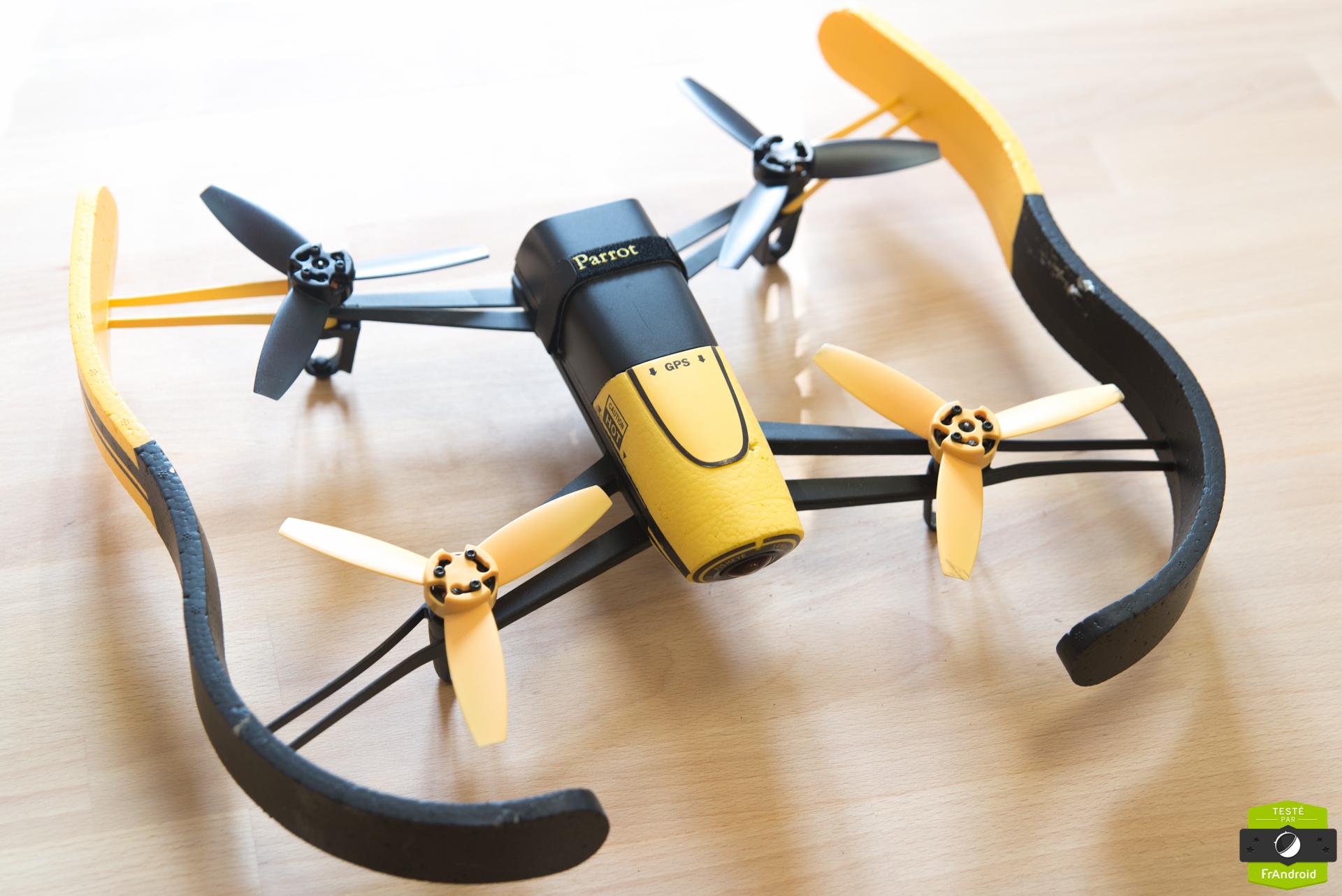 Test du Parrot Bebop Drone : les vidéos de vacances prennent leur envol