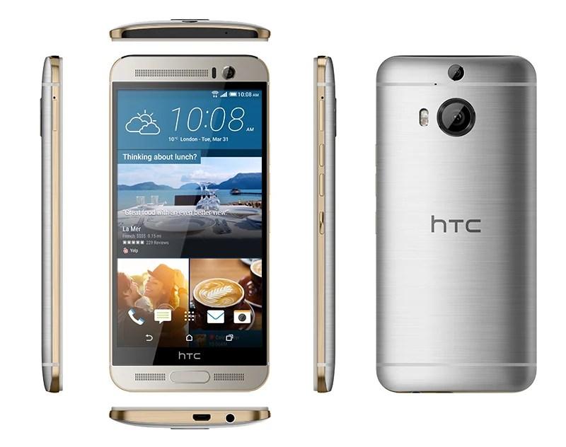 HTC One M9+ : il est officiel et avec un écran QHD