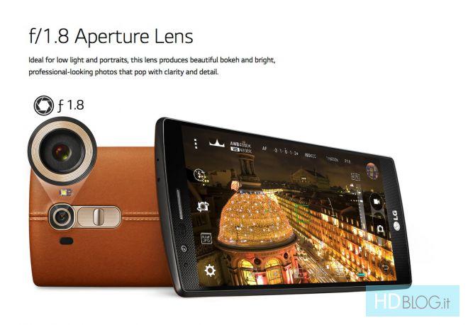 LG G4 : un capteur photo maison intriguant