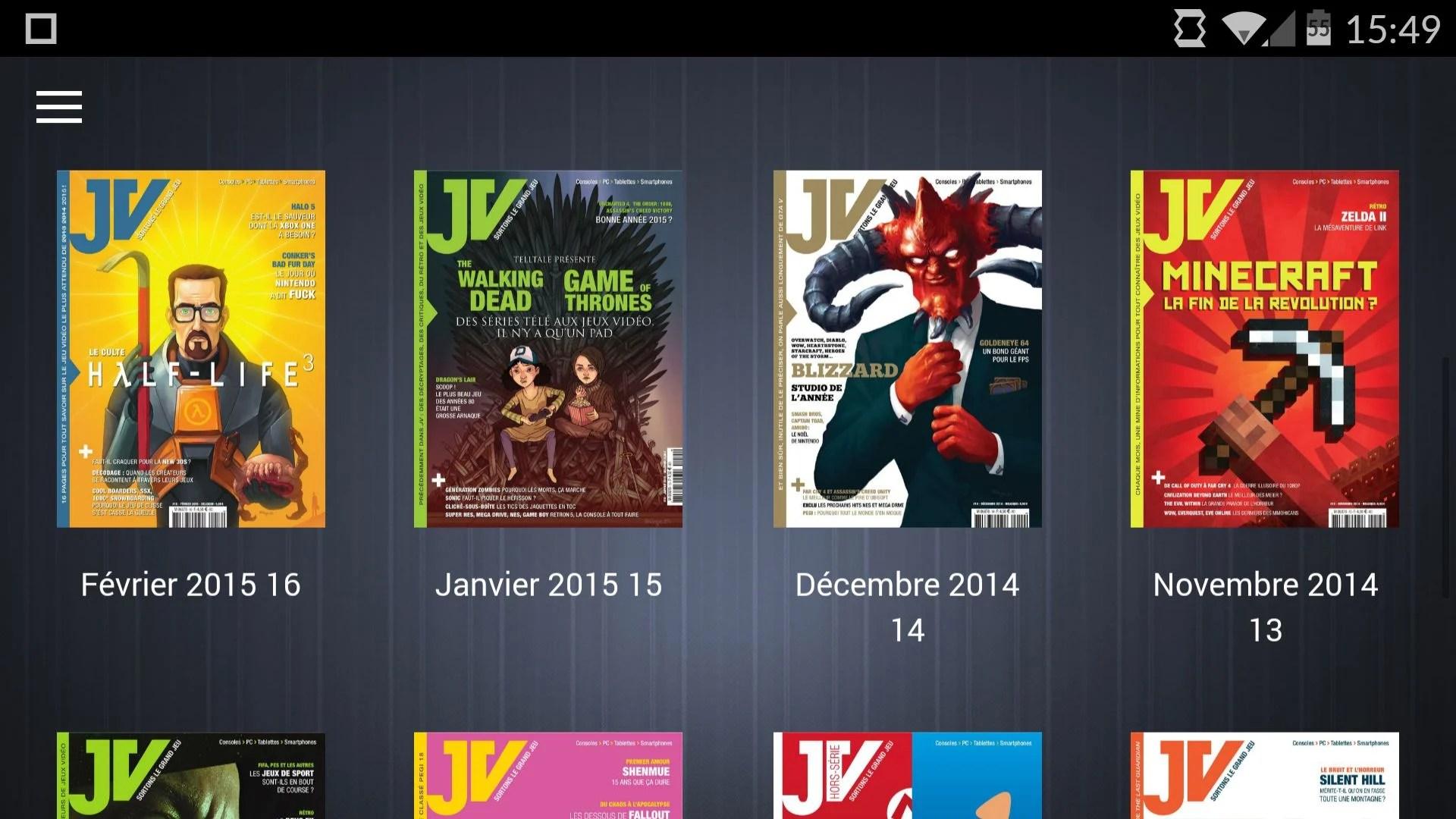 JV le mag, l'application Android pour lire l'un de nos magazines préférés
