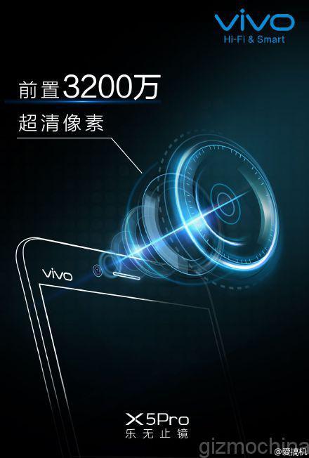 Le Vivo X5 Pro capable de prendre des selfies de 32 mégapixels ?