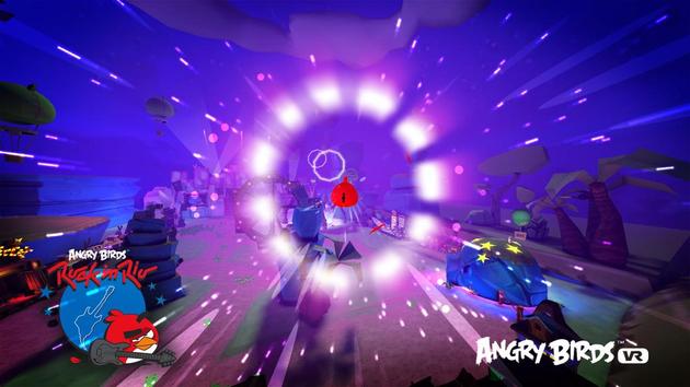 Angry Birds VR, vous n'allez pas y échapper