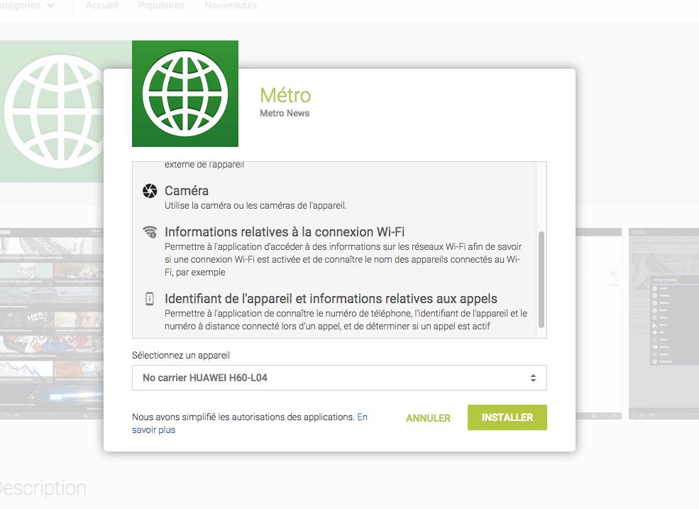 Android M : les permissions des applications pourront être bloquées