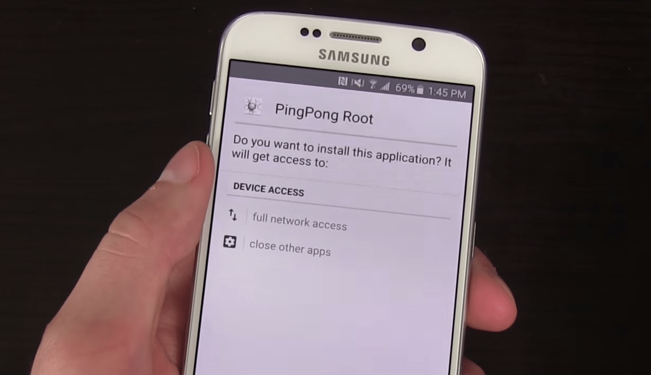 Galaxy S6 et S6 Edge : PingPong Root, l'outil ultime pour rooter son appareil ?