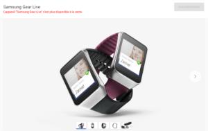 La Samsung Gear Live disparait du Play Store