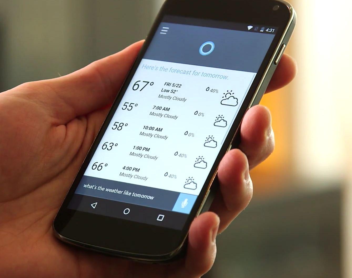 Cortana sera disponible sur Android dès le mois prochain