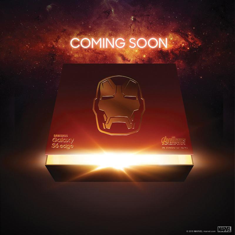 Samsung confirme l'arrivée d'un GalaxyS6 edge «Iron Man»