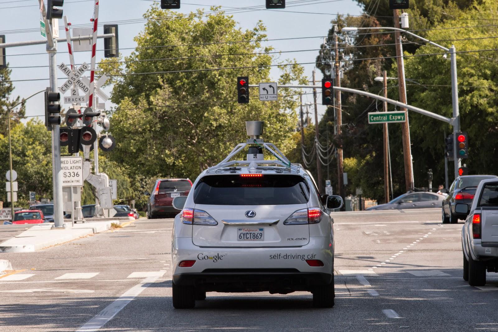 Google Car : un accident avec des blessés légers