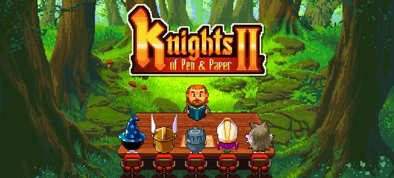 Knights of Pen & Paper2 réussit son jet de dé de lancement sur le Play Store
