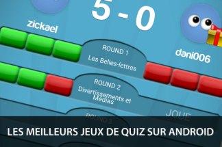Les meilleurs jeux de quiz sur smartphones et tablettes Android