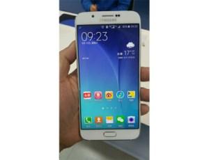 Le Samsung Galaxy A8 dévoile son design en photos