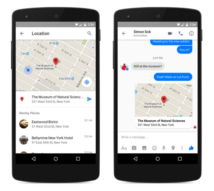 Facebook Messenger : le partage de la localisation va s'améliorer