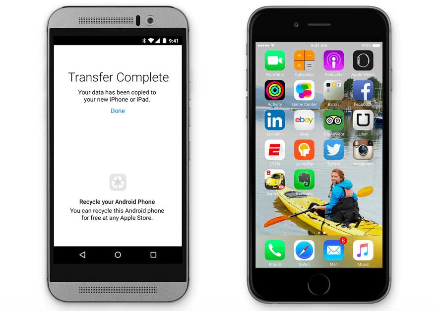 Move to iOS : pour encourager la migration vers iOS, Apple mise sur une application de transfert