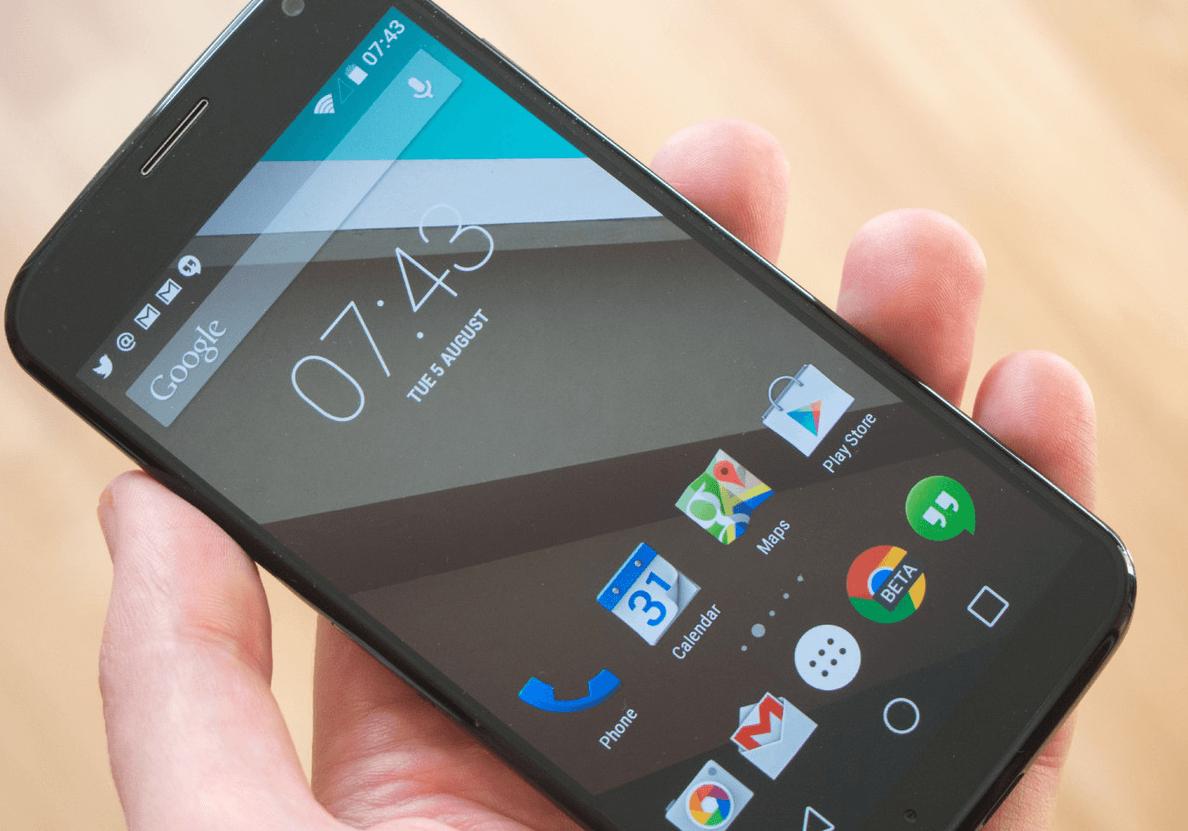 Motorola Moto X (2013) : Android 5.1 arrive enfin