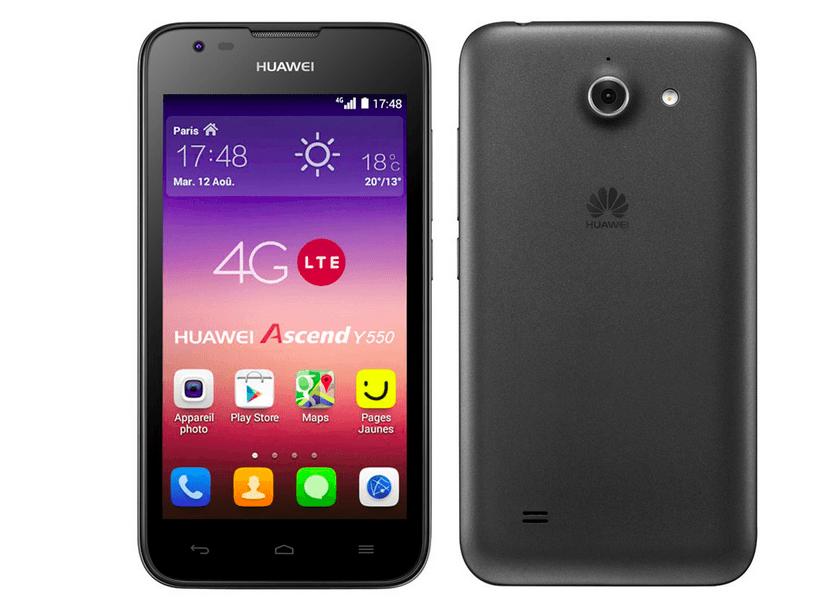 Bon plan : Le Huawei Ascend Y550 à 44 euros au lieu de 129 euros