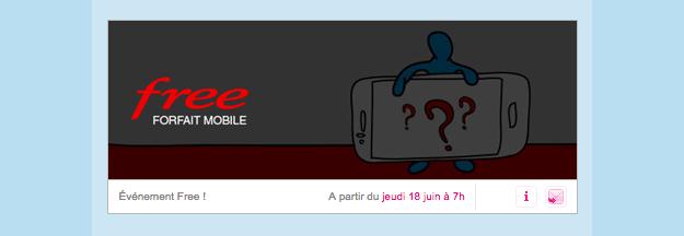 [MàJ : on en sait déjà plus] Free : demain, attendez-vous à une vente privée sur un forfait mobile