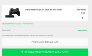 La Razer Forge TV arrive sur le Play Store, mais seulement aux États-Unis