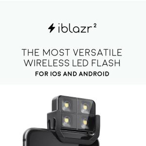iblazr 2 : le flash externe pour smartphones revient sur Kickstarter