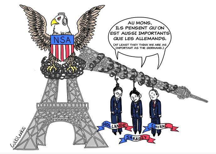 WikiLeaks : la République française était sous écoute américaine