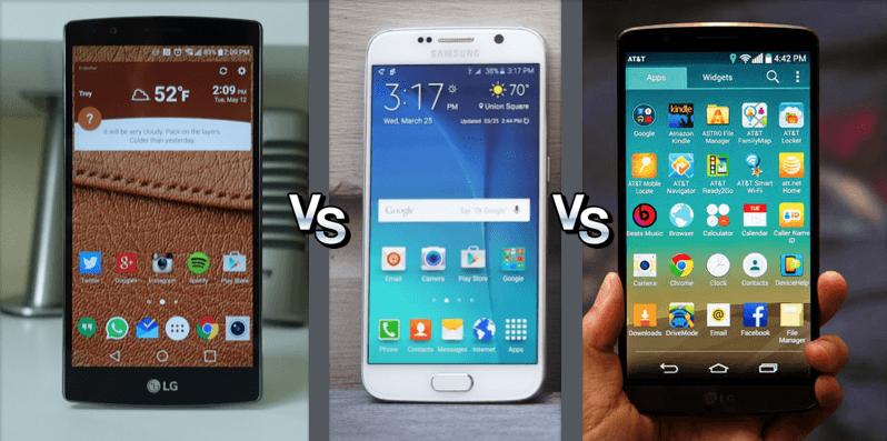 Bon plan : le Samsung Galaxy S6 et les LG G4 et G3 à très bon prix jusqu'à minuit
