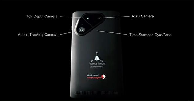 Projet Tango : un nouveau smartphone développé par Google et Qualcomm