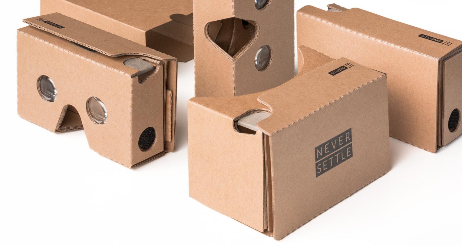 OnePlus offre des Cardboard améliorés pour la réalité virtuelle