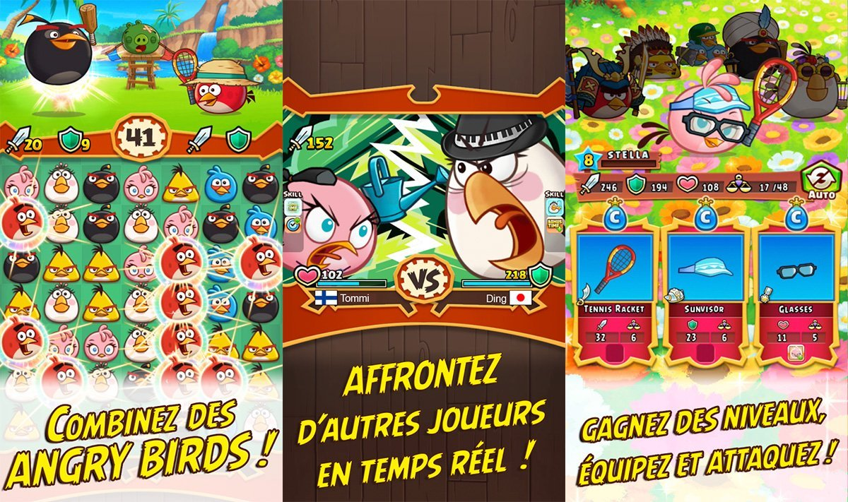 Angry Birds Fight : un match-3 plutôt novateur