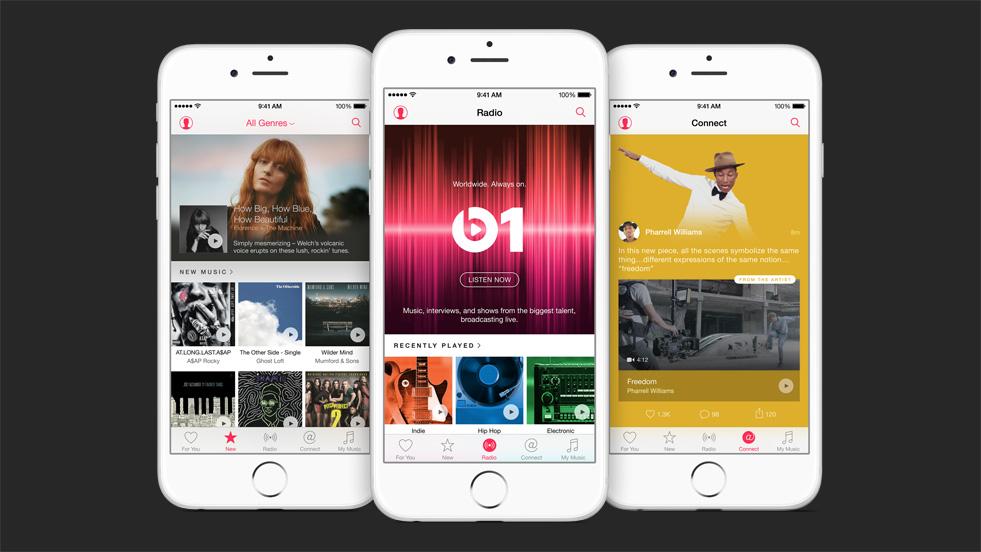 Apple Music devient le 2e service de streaming musical, juste derrière Spotify