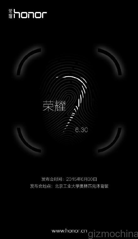 Honor 7 : il sera présenté le 30 juin