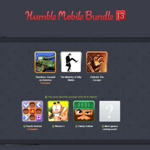 Humble Mobile Bundle : Worms 3, Puzzle Retreat et Hellraid: The Escape au programme