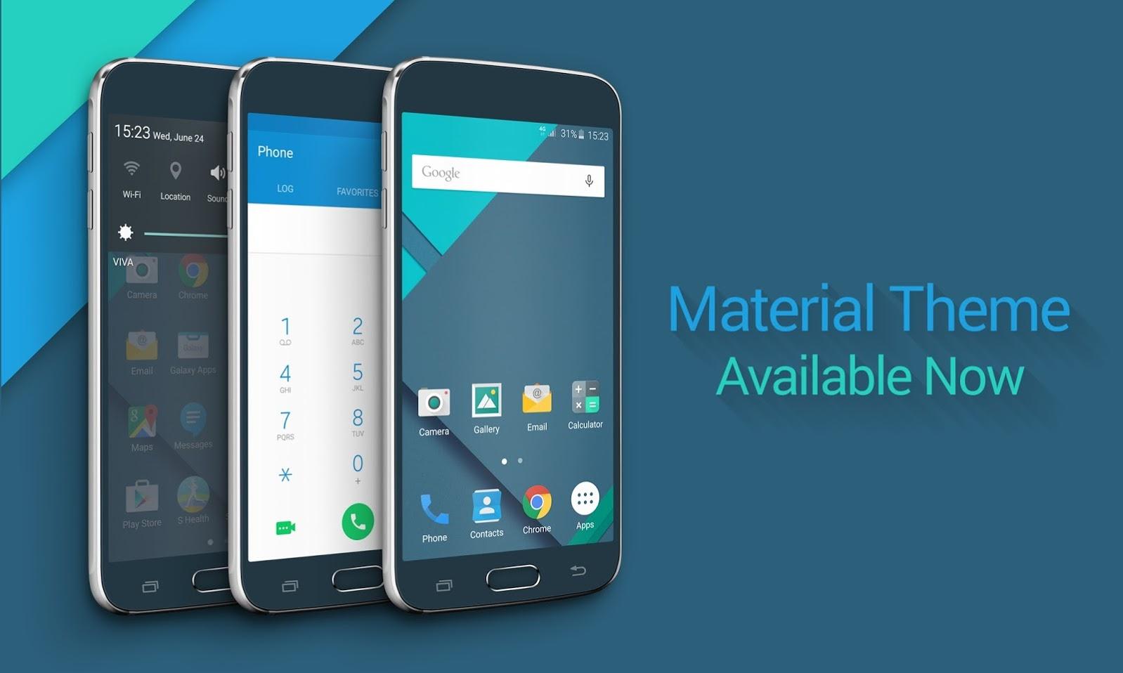 Galaxy S6 : Le thème Android Stock disponible dans le Theme Store